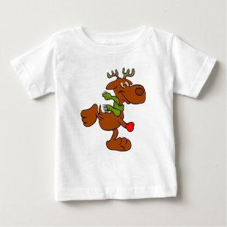 Camiseta De Bebé Alces corrientes