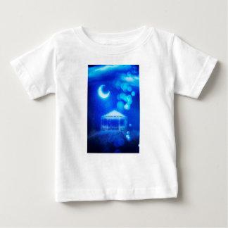 Camiseta De Bebé Alcoba del invierno de la fantasía