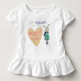 Camiseta De Bebé Alergia animal del niño del conejito del invierno