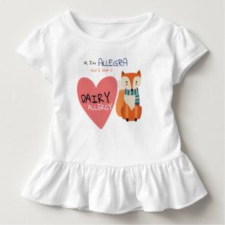 Camiseta De Bebé Alergia animal del niño del Fox del invierno lindo