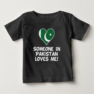 Camiseta De Bebé Alguien en Paquistán me ama