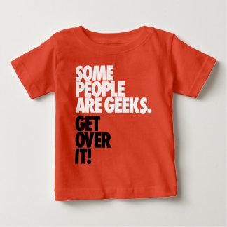 Camiseta De Bebé Alguna gente es frikis
