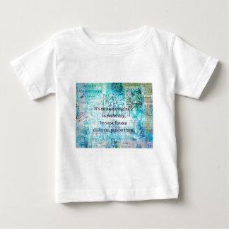 Camiseta De Bebé Alicia en cita caprichosa del país de las