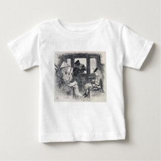 Camiseta De Bebé Alicia en el tren