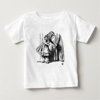 Camiseta De Bebé Alicia encuentra una puerta