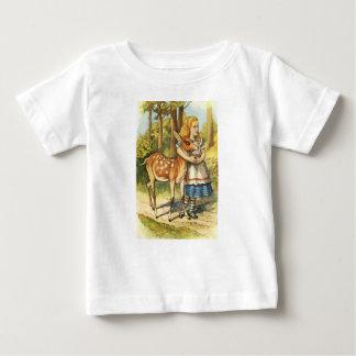 Camiseta De Bebé Alicia y el cervatillo