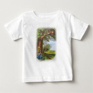 Camiseta De Bebé Alicia y el gato de Cheshire