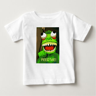 Camiseta De Bebé ¡Aliménteme!