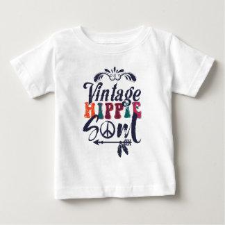 Camiseta De Bebé Alma del Hippie del vintage