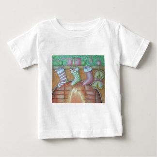 Camiseta De Bebé Almacenamiento del navidad