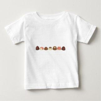 Camiseta De Bebé Almendras garapiñadas del chocolate