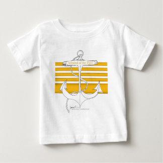 Camiseta De Bebé almirante de la flota, fernandes tony del oro