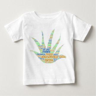 Camiseta De Bebé Alove Vera ilustrada con las ciudades de la