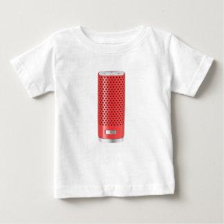 Camiseta De Bebé Altavoz elegante rojo