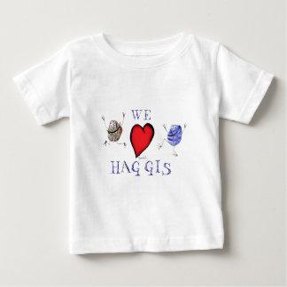 Camiseta De Bebé amamos haggis