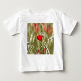 Camiseta De Bebé Amapola caliente