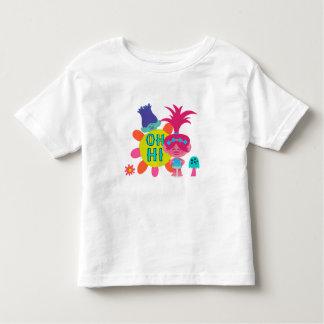 Camiseta De Bebé Amapola y rama de los duendes el   - oh hola allí