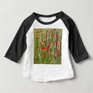 Camiseta De Bebé Amapolas envenenadas