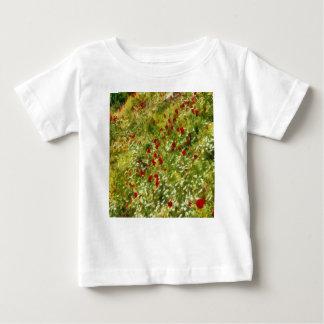 Camiseta De Bebé Amapolas impresionistas