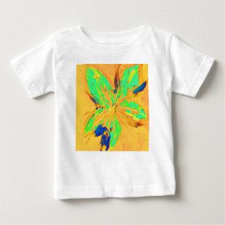 Camiseta De Bebé Amarillo ácido del lavado de Santa Fe