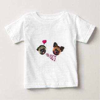 Camiseta De Bebé ame mis barros amasados
