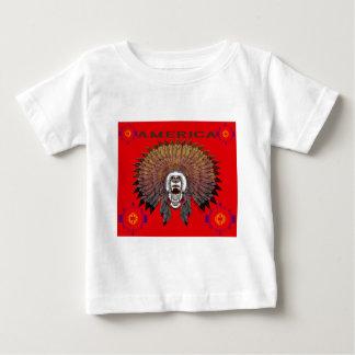 Camiseta De Bebé America bear face bears