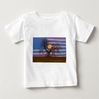 Camiseta De Bebé Americano noviembre Supermoon