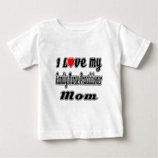Camiseta De Bebé Amo a mi mamá del médico de la enfermera de la