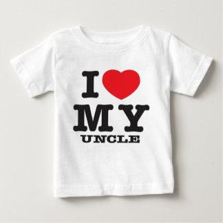 Camiseta De Bebé Amo a mi tío (sacudida y la retransmisión en
