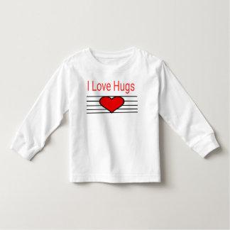Camiseta De Bebé Amo abrazos