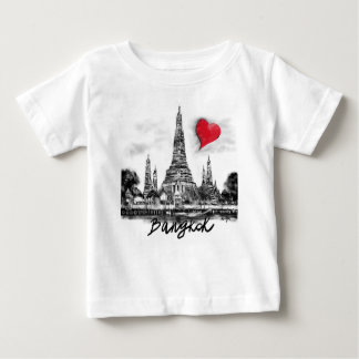 Camiseta De Bebé Amo Bangkok