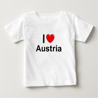 Camiseta De Bebé Amo el corazón Austria
