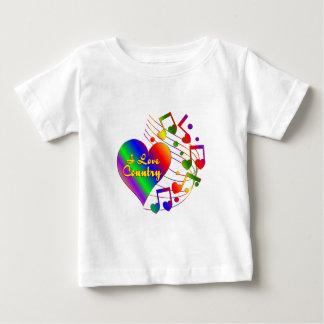 Camiseta De Bebé Amo el país