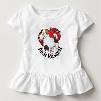 Camiseta De Bebé Amo mi Jack divertido y lindo adorable feliz