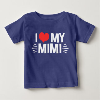 Camiseta De Bebé Amo mi Mimi