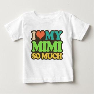 Camiseta De Bebé Amo mi Mimi tanto