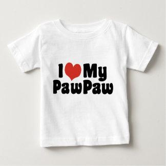 Camiseta De Bebé Amo mi papaya