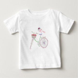 Camiseta De Bebé Amor de la bicicleta