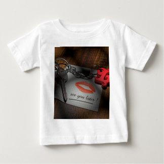 Camiseta De Bebé Amor de la cerradura del labio