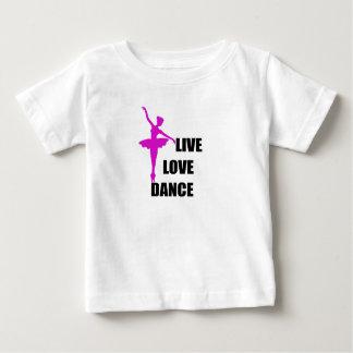 Camiseta De Bebé amor de la danza vivo