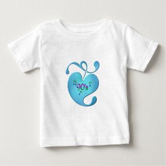 Camiseta De Bebé amor de la música 90s