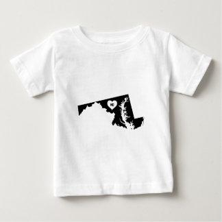 Camiseta De Bebé Amor de Maryland