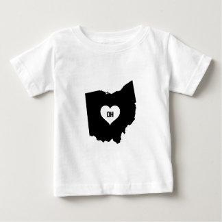 Camiseta De Bebé Amor de Ohio