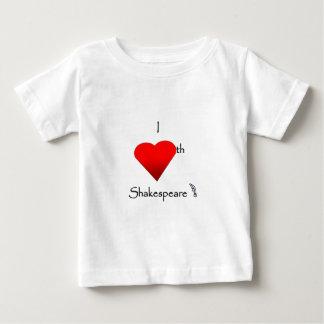 Camiseta De Bebé Amor de Shakespeare
