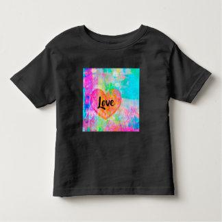Camiseta De Bebé Amor del corazón de Boho