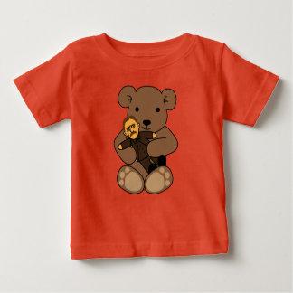 Camiseta De Bebé Amor del peluche