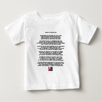Camiseta De Bebé Amor psicodélico - Juegos de palabras - Francois