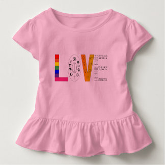 Camiseta De Bebé Amor universal