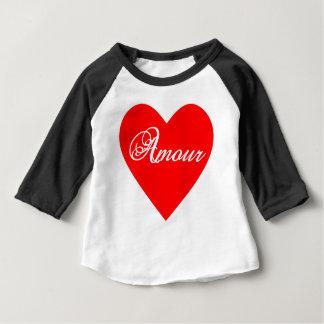 Camiseta De Bebé Amorío