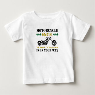 Camiseta De Bebé Ángel de la motocicleta